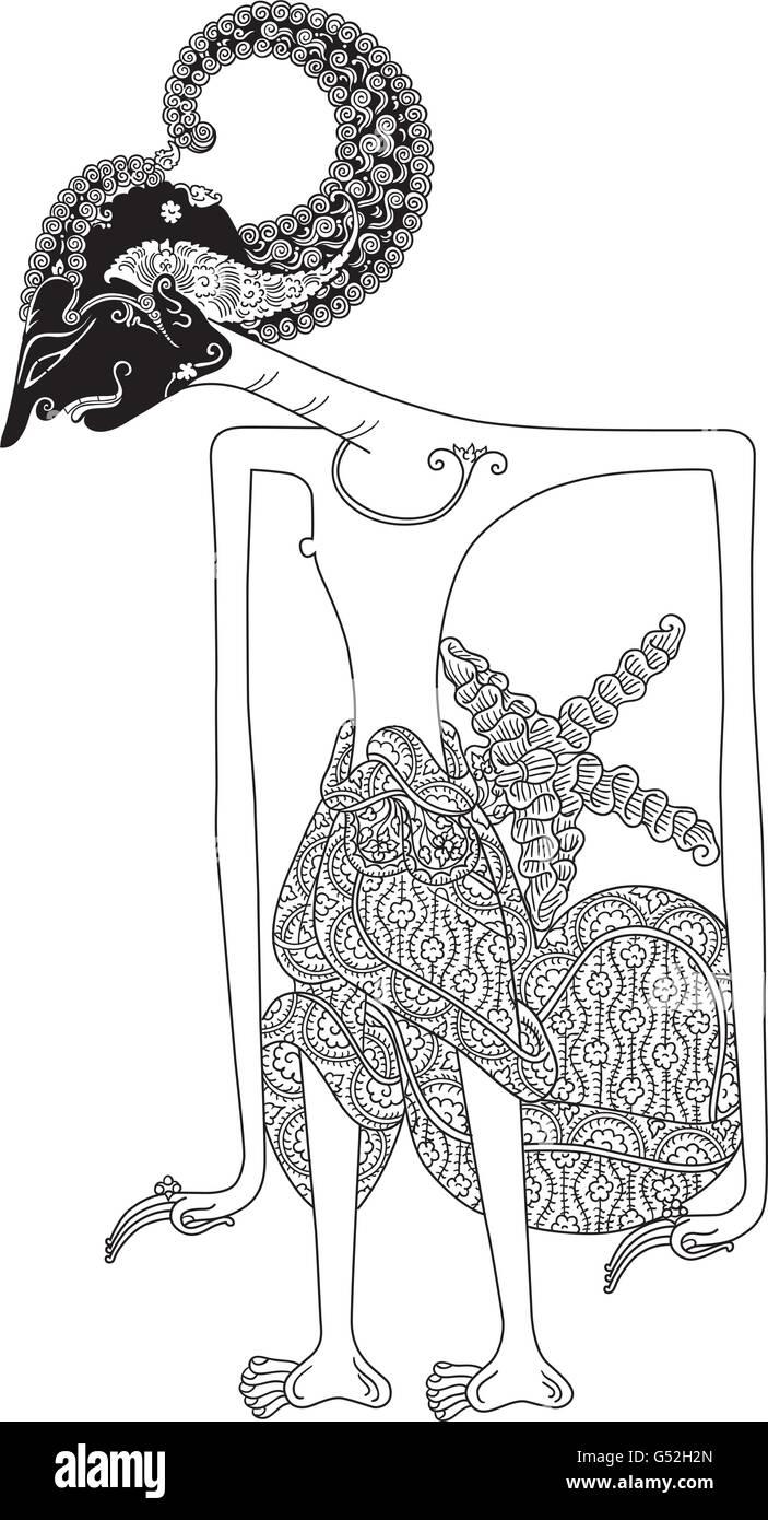 Wayang Kulit Arjuna