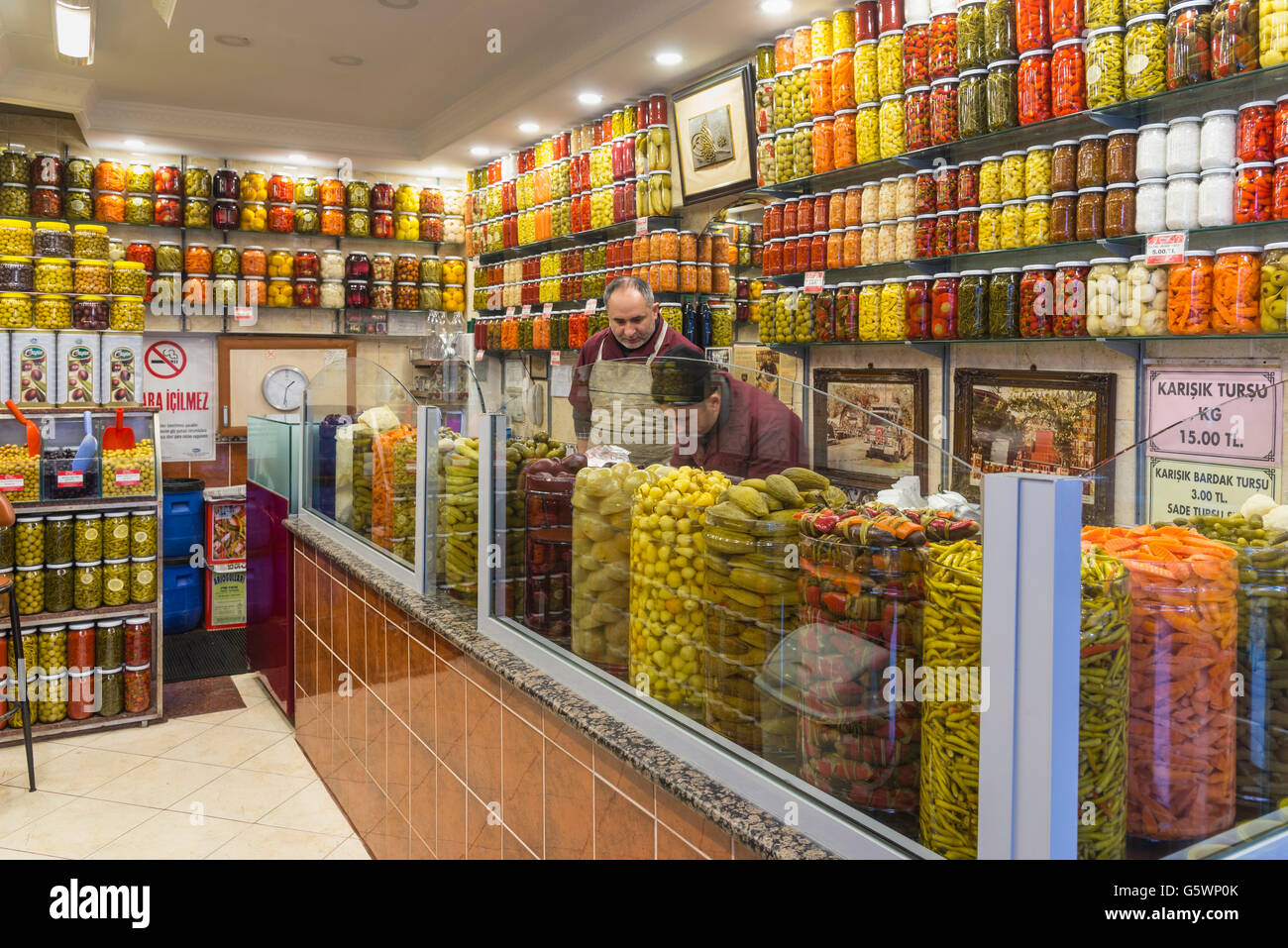 Shop shops turkey traditional stock photos shop shops for Fresh fish shop near me