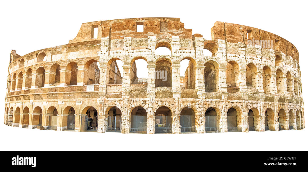 Coliseum rome isolated stock photo 106903609 alamy coliseum rome isolated publicscrutiny Images