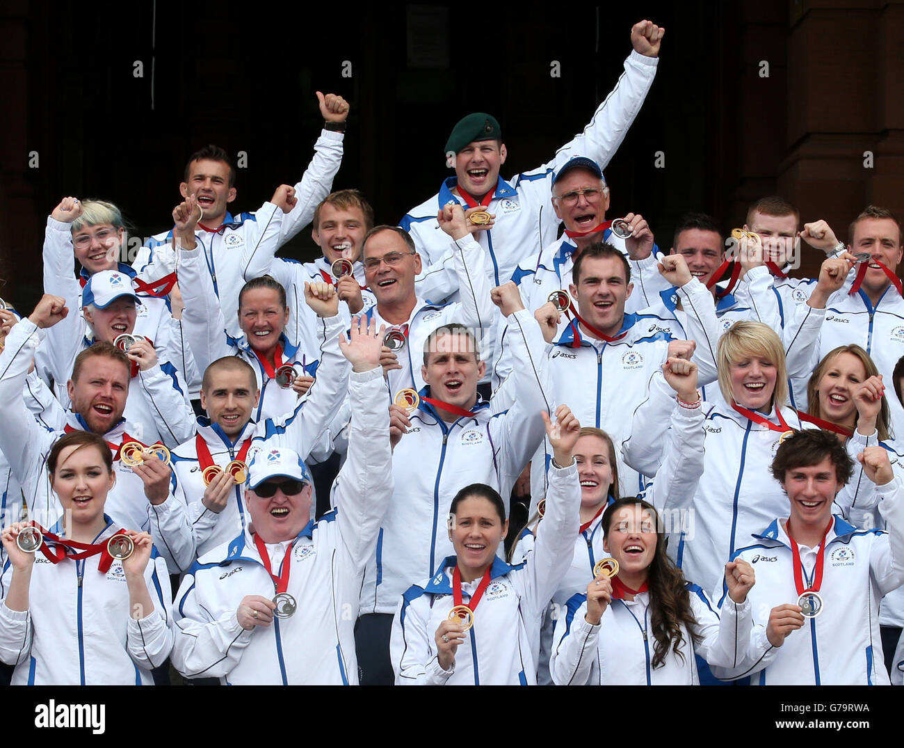 Sport - Team Scotland Commonwealth Games Parade - Glasgow ...
