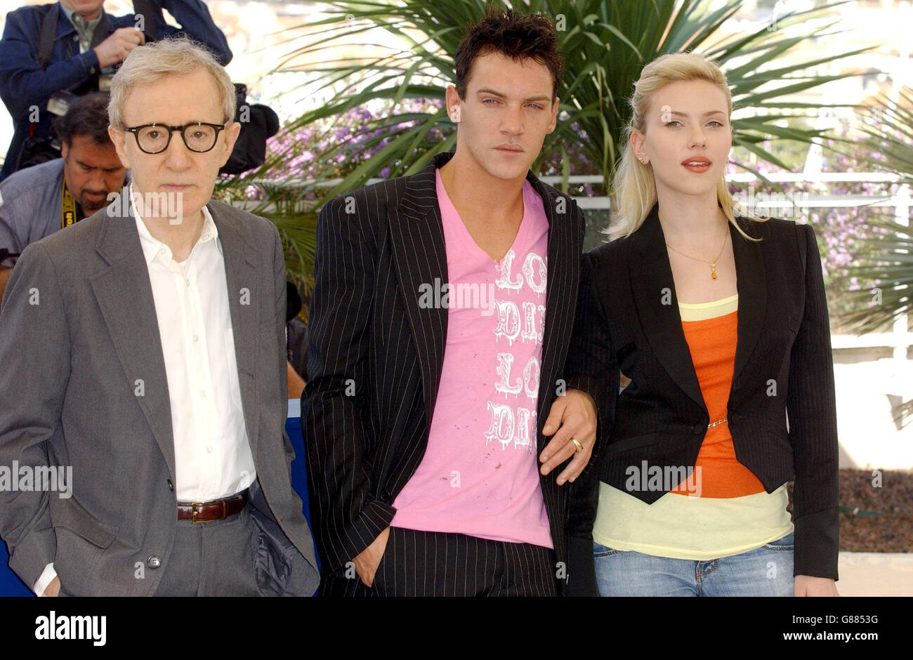 Cannes Film Festival 2005 - 'Match Point' Photocall - Palais des Festival Stock Photo