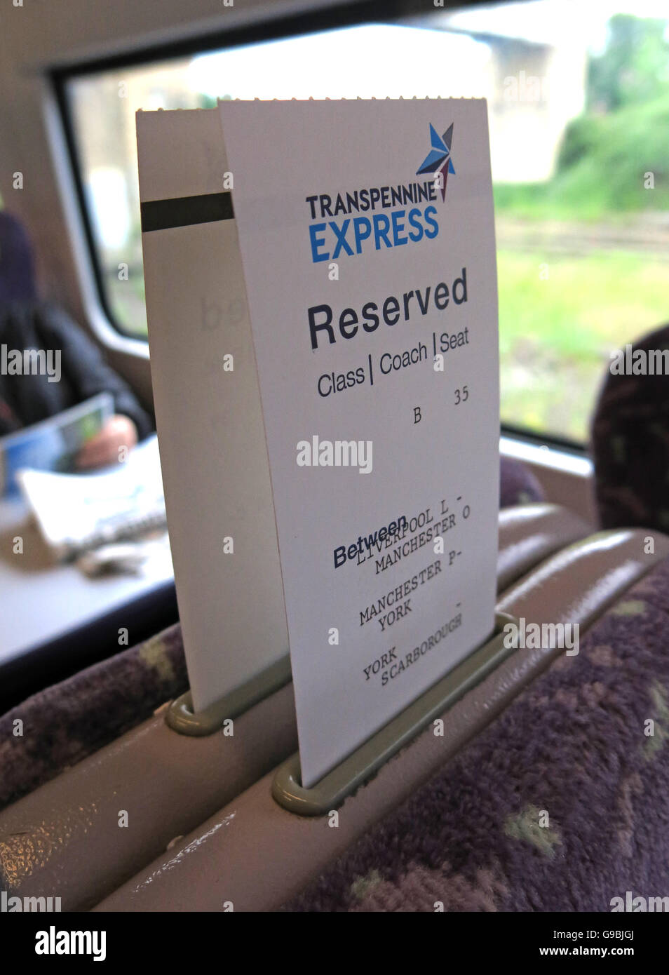Class,Coach,seat,mandatory,ticket,seating,table,window,aisle,power,socket,TPE,Trans,Pennine,std,standard,first,class,Warrington,B35,BR,UK,GB,on,a,York,Scarborough,Liverpool,Transpennine Express,Trans-pennine Express,British Rail,British Railways,Train reservation,seat reservation,on a,GoTonySmith,@HotpixUK,carriage,line,main,railroad,reservation,reserved,ticket,travel,operating,co,company,TOC,book,booked,booking,quiet,coach,compulsory,optional,Journey,advance,find,my,children,child,Buy Pictures of,Buy Images Of,Images of,Stock Images,Train Operating Company,Train seat,Train Seat Reservations,Seat Booking,Seat preferences,Quiet coach,Advance Reservation,Seat position,Direction of travel,Quiet Coach,reservation ticket,Find My Seat,Reservations for children