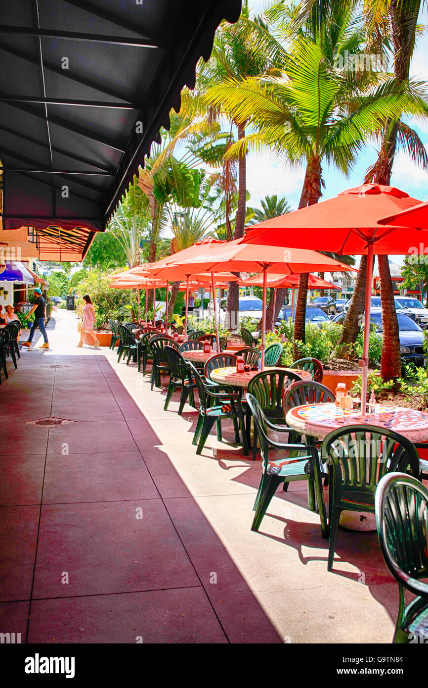 Restaurants Along The North Quadrant Of St Armands Circle Sarasota