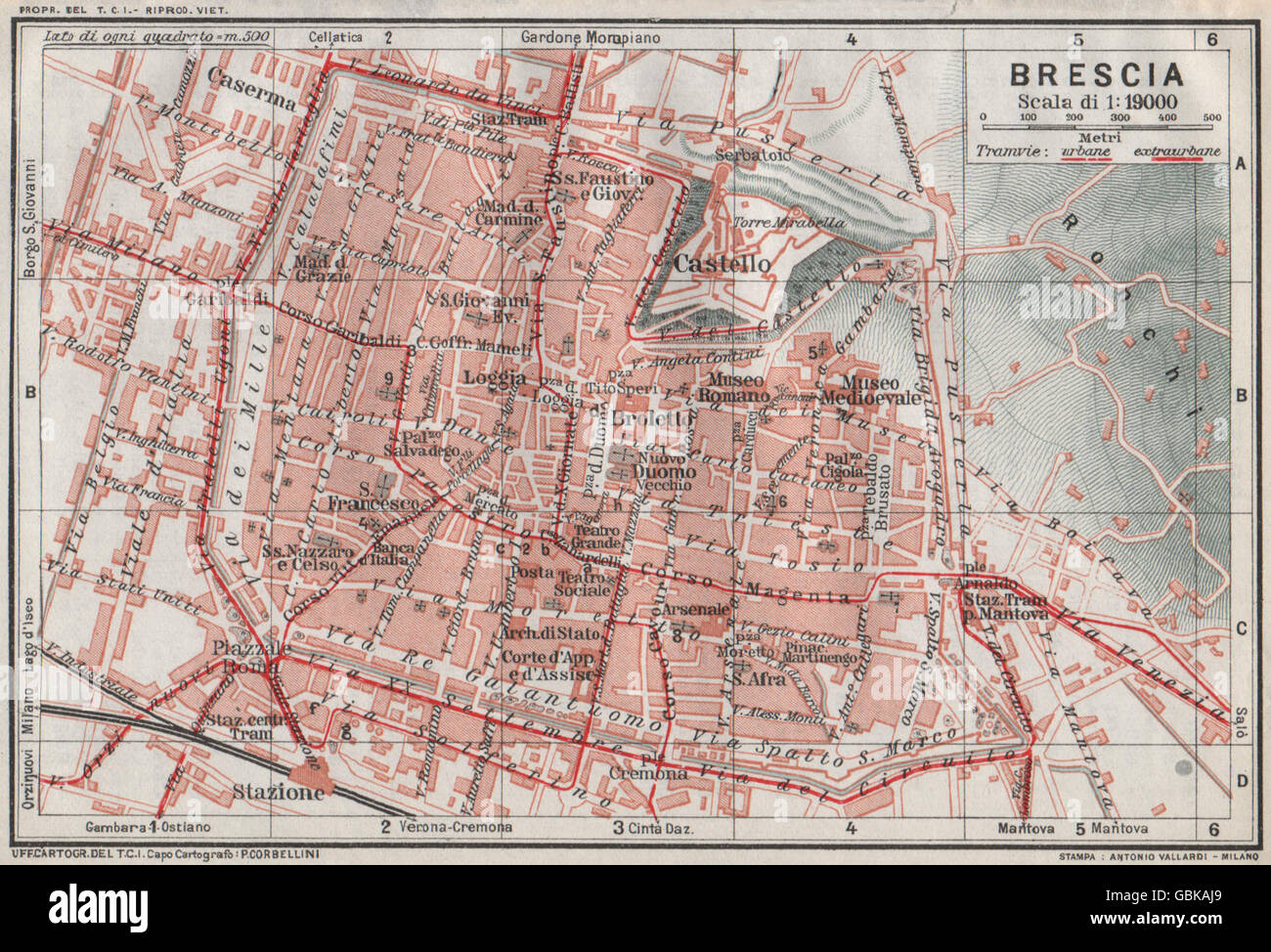 Italy Map 20th Century Stock Photos Italy Map 20th Century Stock