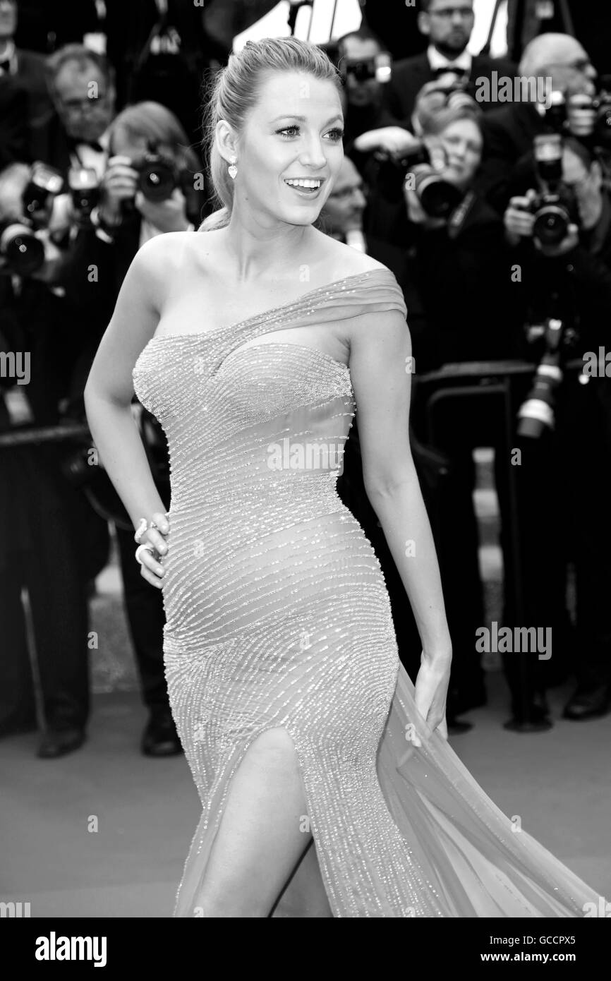 CANNES, FRANCE - MAY 14: Blake Lively attends 'The BFG ' premiere during the 69th Cannes Film Festival - Stock Image