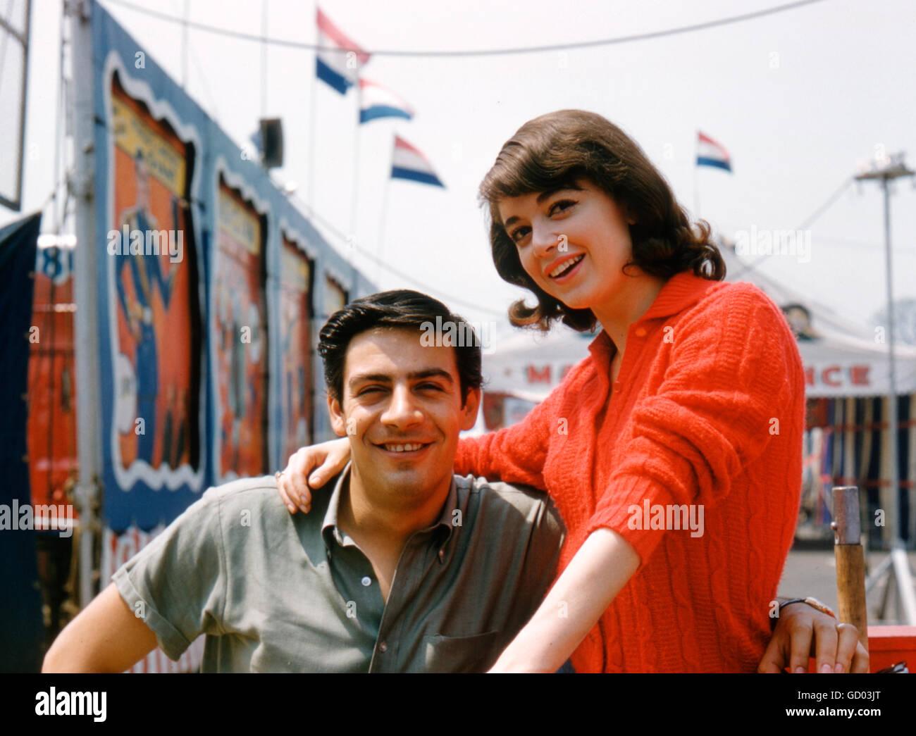 Anna Maria Alberghetti and Jerry Orbach - Stock Image