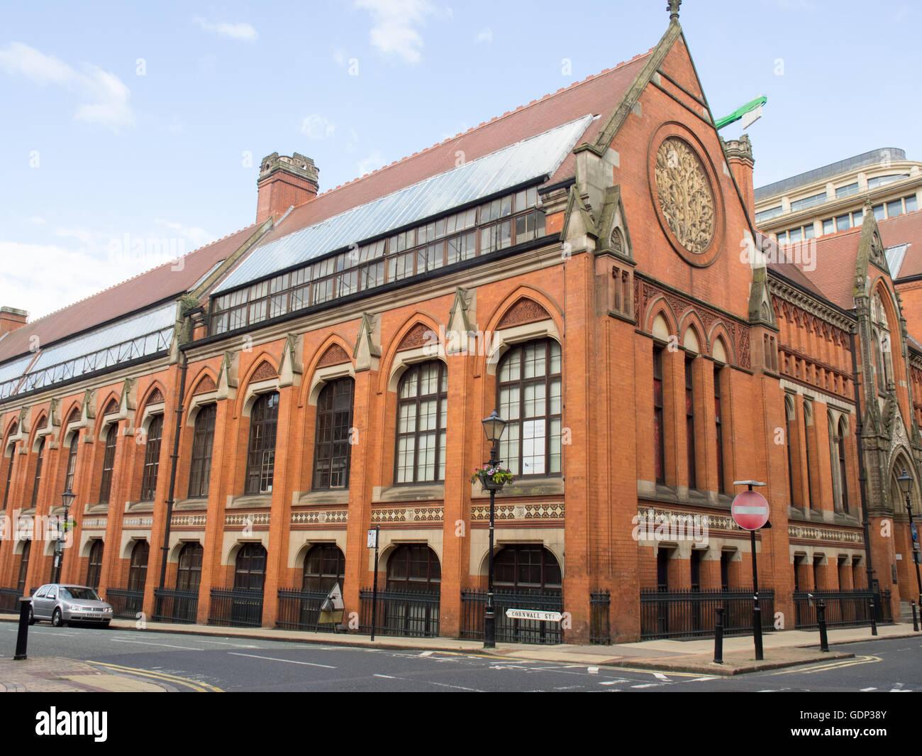Birmingham City University School of Fine Art, formerly home of the Birmingham School of Art. Stock Photo