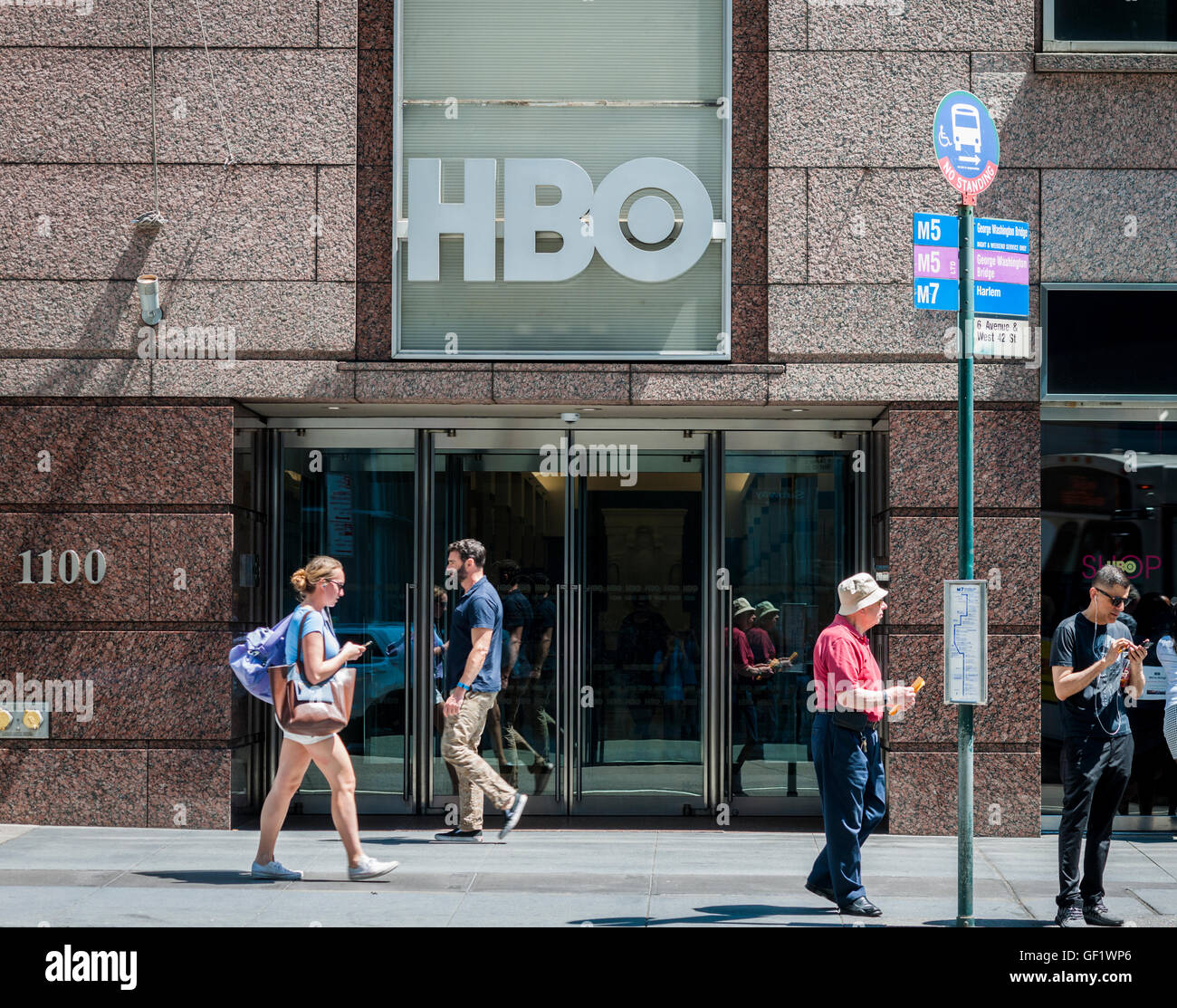 The Offices Of The Time Warner Owned HBO In New York On Friday, July 22,  2016. (© Richard B. Levine