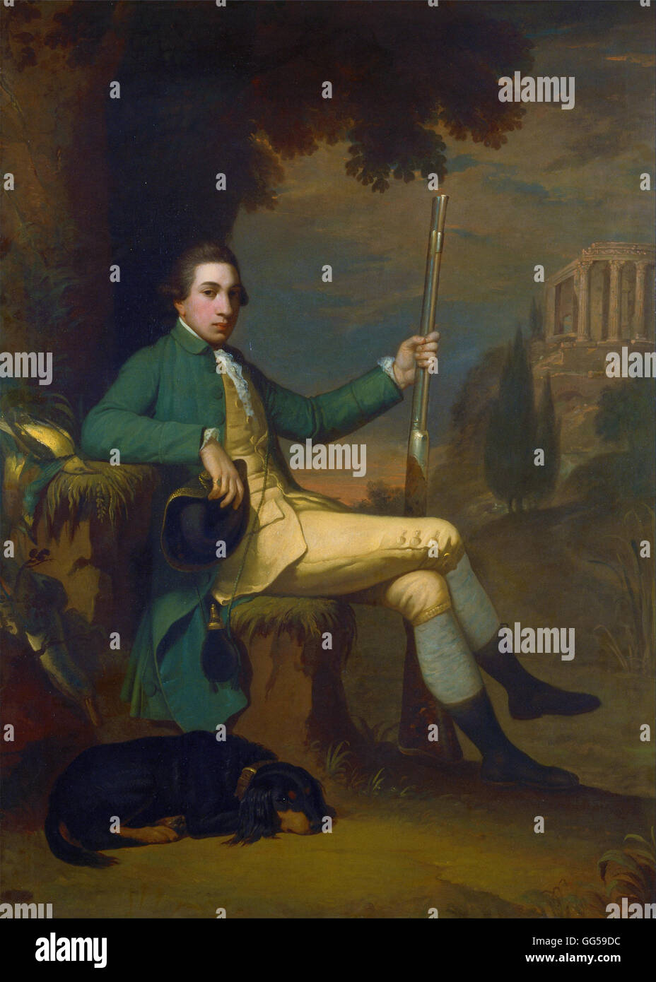 David Allan - Thomas Graham, Baron Lynedoch - Stock Image