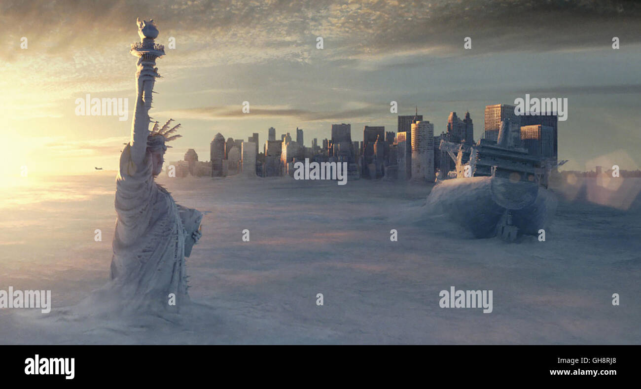 THE DAY AFTER TOMORROW / USA 2004 / Roland Emmerich Szene Regie: Roland EmmerichStock Photo