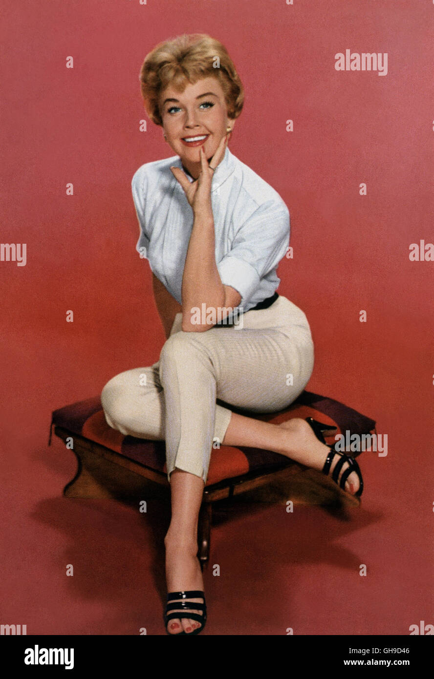 DORIS DAY, 50er Jahre. Film, Fernsehen, Schauspielerin, Sängerin, Portrait, 50er Stock Photo
