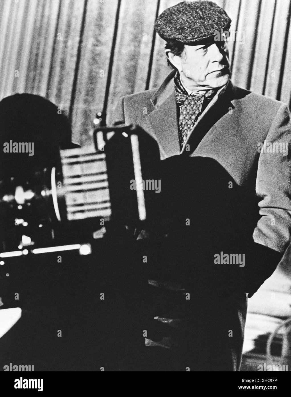 English Director NICHOLAS ROEG (ca. 1990s)Stock Photo