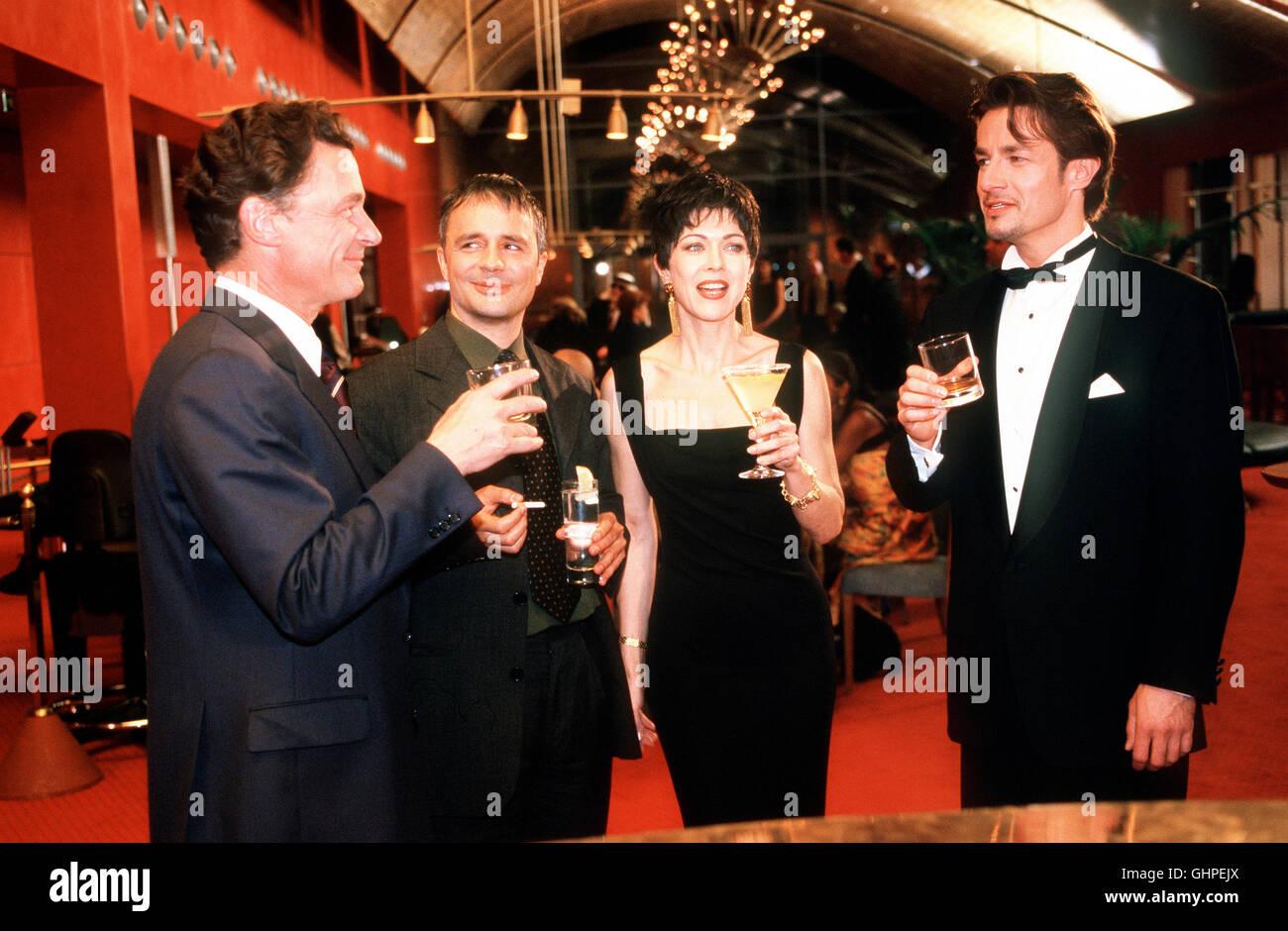 Die Sternbergs - Ärzte, Brüder, Leidenschaften - Lara Jennings (ANJA KRUSE) und Dr. Philipp (RENE HOFSCHNEIDER, - Stock Image