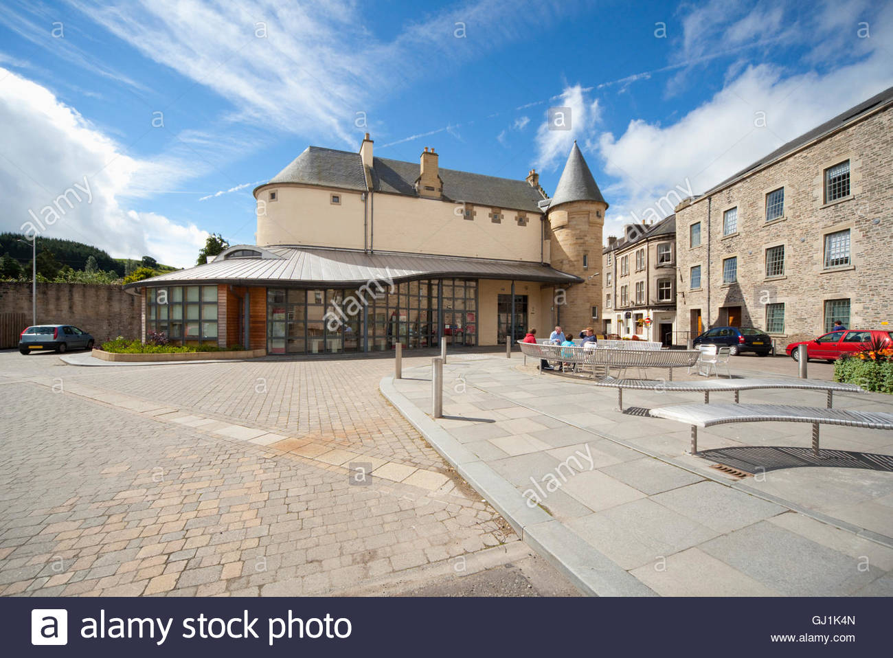 The Heritage Hub, The Scottish Borders Archive and Local History Centre, Hawick, Scottish Borders, Scotland. - Stock Image