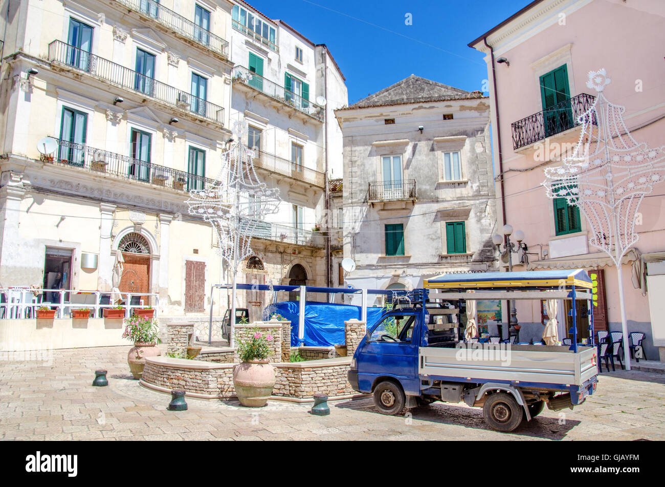 Rodi Garganico Apulia gargano italy Stock Photo