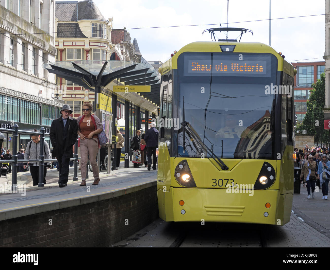 GoTonySmith,@HotpixUK,Tony,Smith,UK,GB,Great,Britain,United,Kingdom,English,British,England,problem,problem with,issue with,Images of,Stock Images,Tony Smith,United Kingdom,Great Britain,rail,Light Railway,Shaw,Victoria,in,City Centre,North West England,tram network,transport,system,light-rail scheme,Transport for Greater Manchester,Keolis Amey consortium,standard-gauge track,tramway,street-running rail system,trams