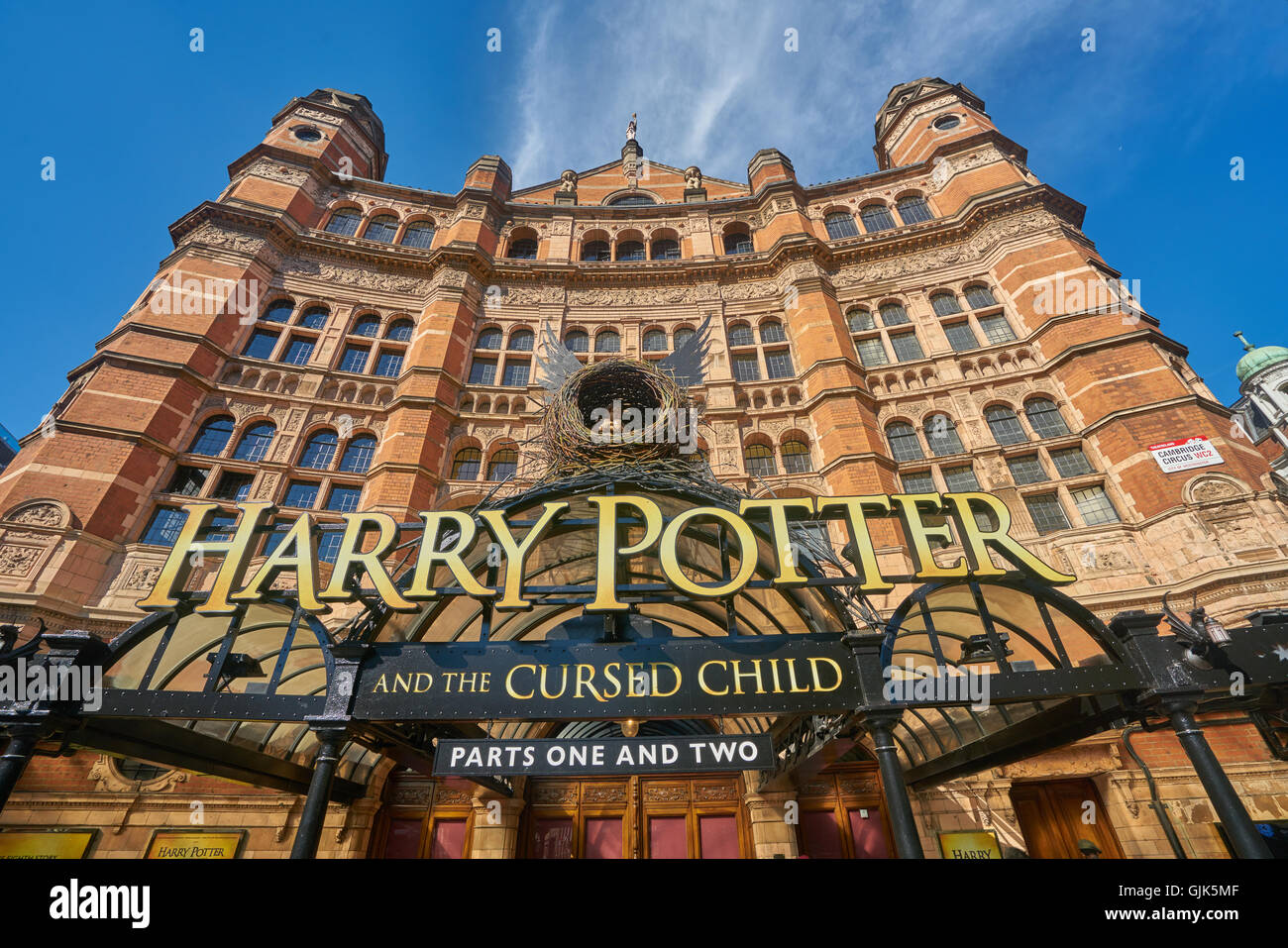 Harry Potter and the Cursed Child.  Palace theatre - Stock Image