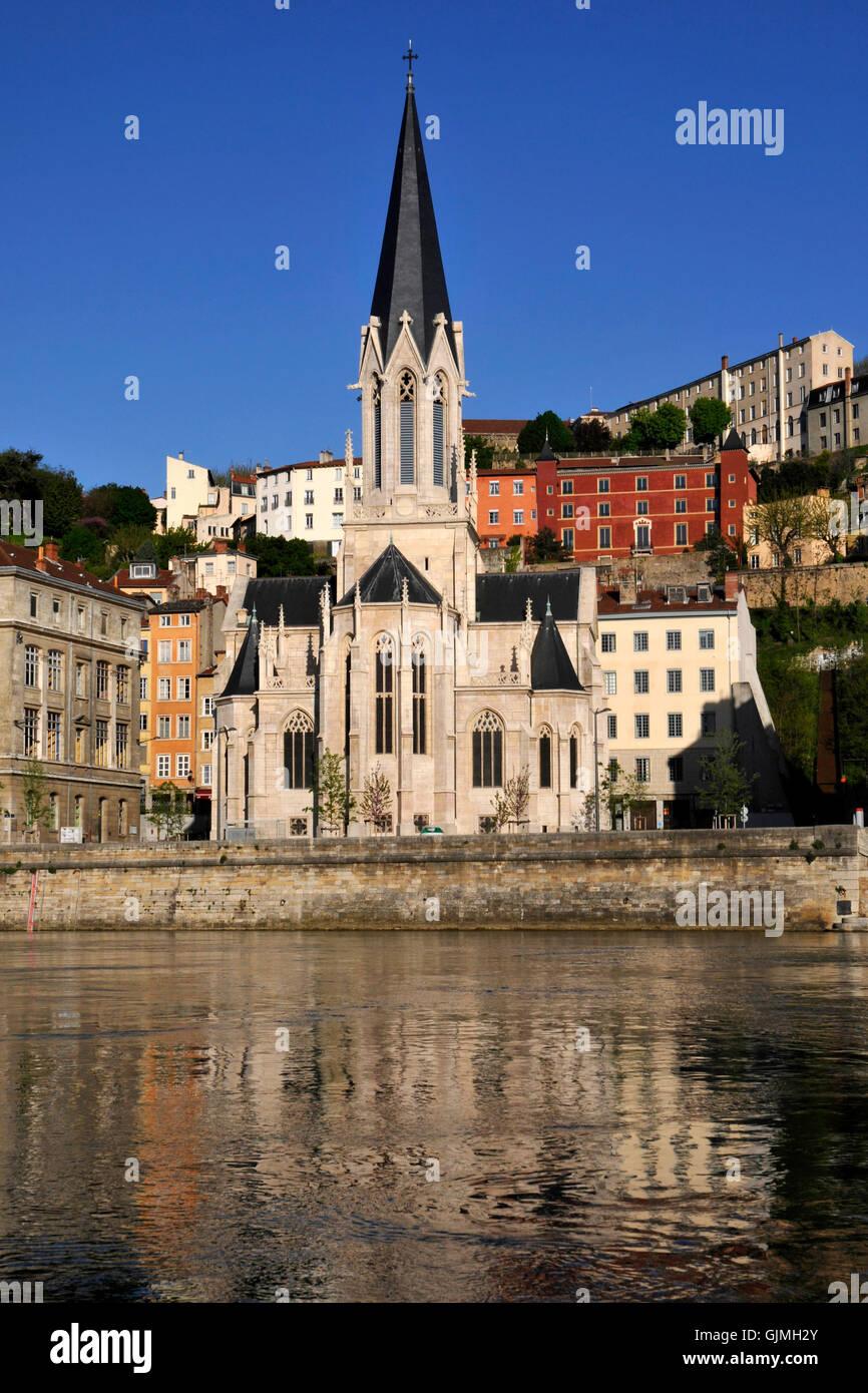 travel church tourism - Stock Image