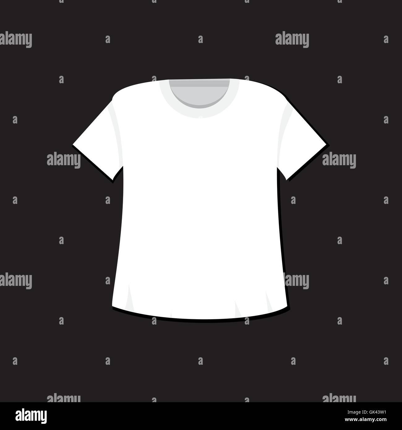 t shirt template isolated sport singlet mockup vector stock vector