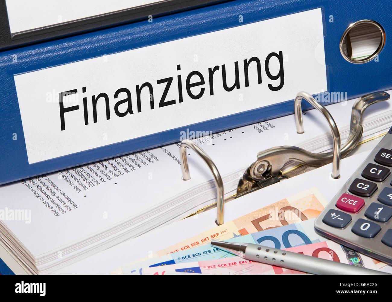 funding - Stock Image