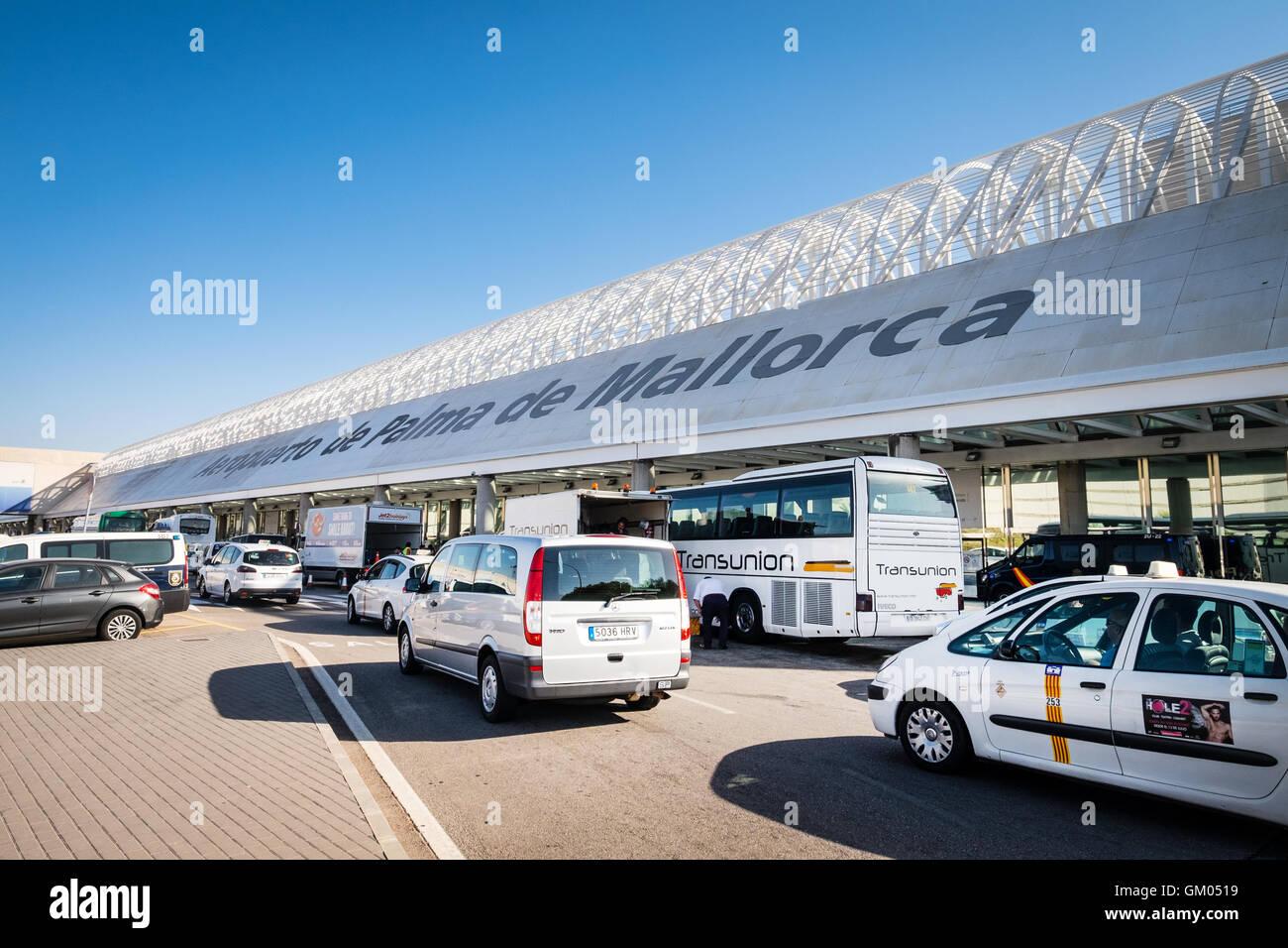 Palma de Mallorca Airport in Majorca Mallorca Stock Photo