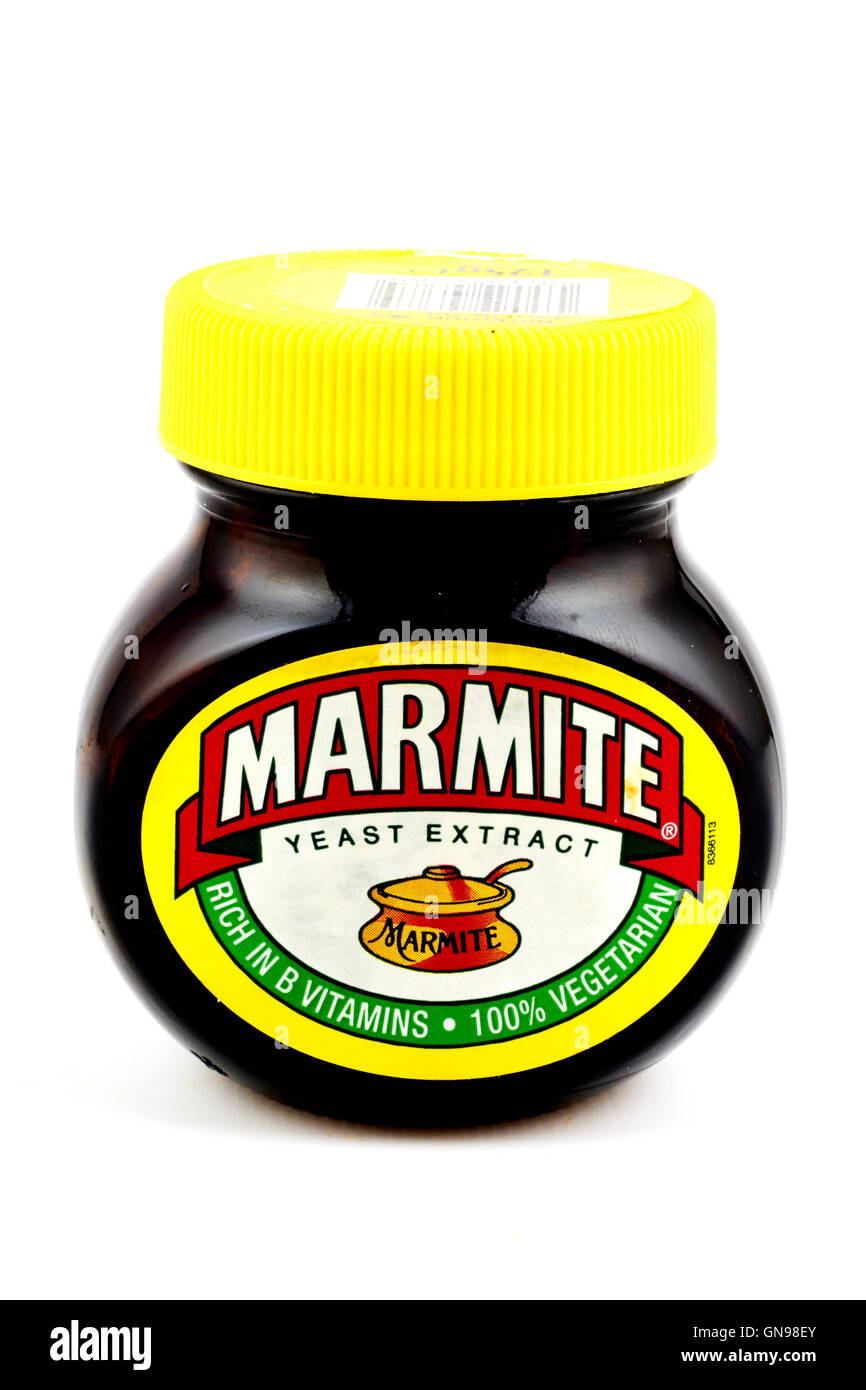 Marmite Yeast Extract Stock Photo