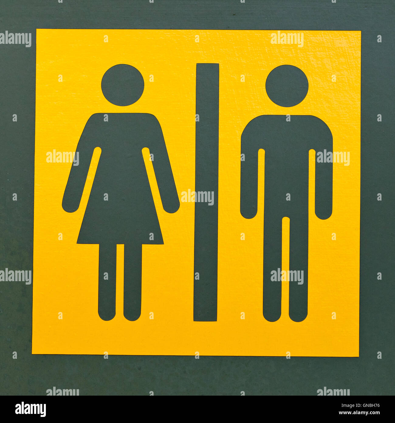 Restroom Sign Symbol For Men And Women Stock Photo 116424986 Alamy