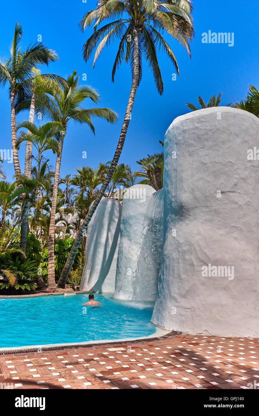 Hotel Jardin Tropical Costa Adeje Tenerife Stock Photo 117180672