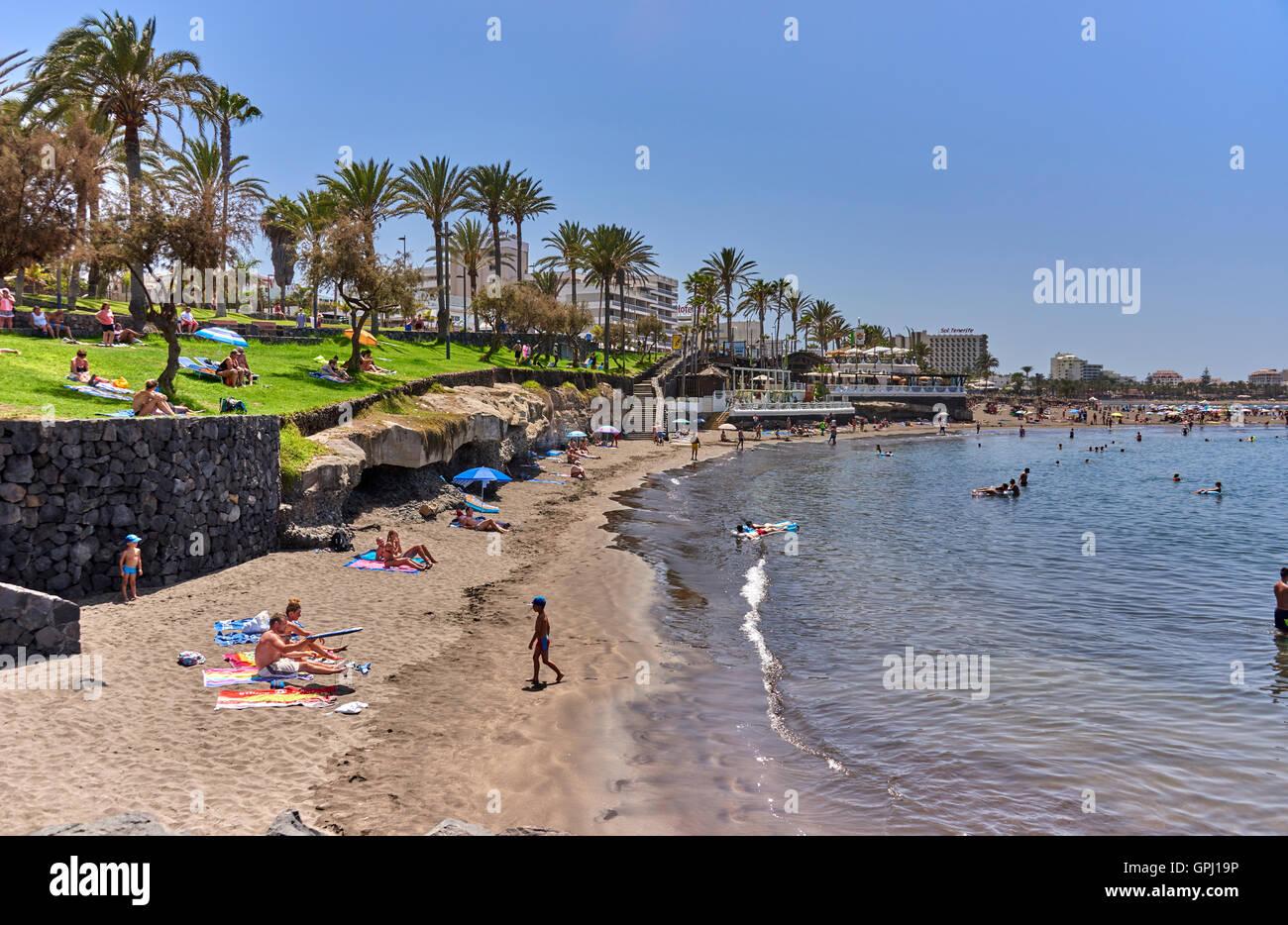 Hotel Jardin Tropical Costa Adeje Tenerife Stock Photo 117180834
