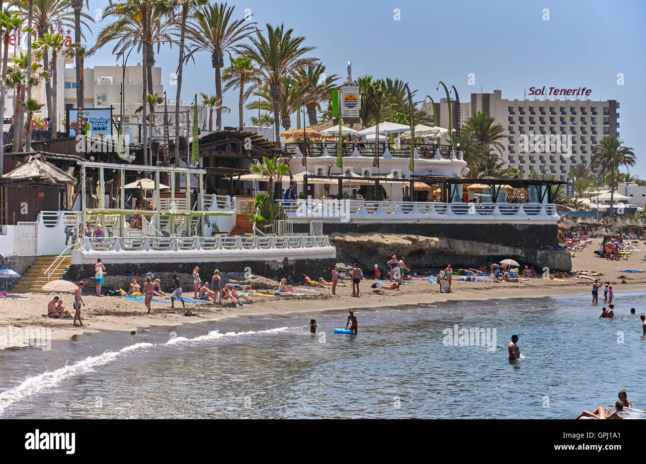 Hotel Jardin Tropical Costa Adeje Tenerife Stock Photo 117180841