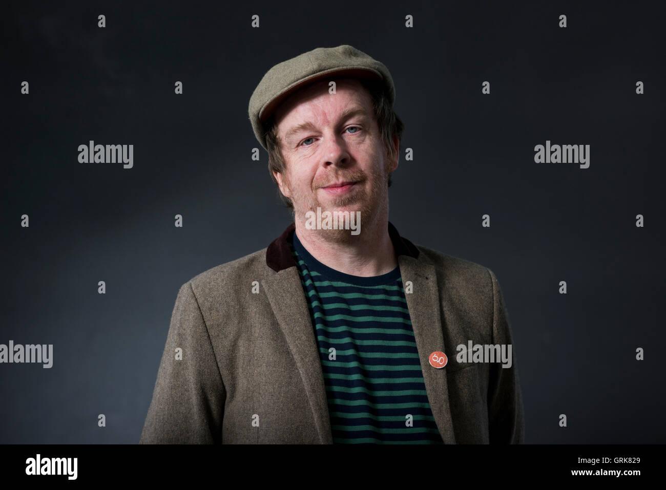 Irish writer Kevin Barry. - Stock Image