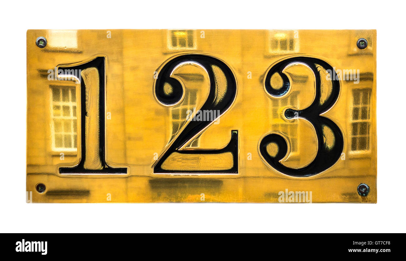 123-sign-brass-house-number-sign-in-edinburgh-scotland-123-cut-out-GT7CF8.jpg