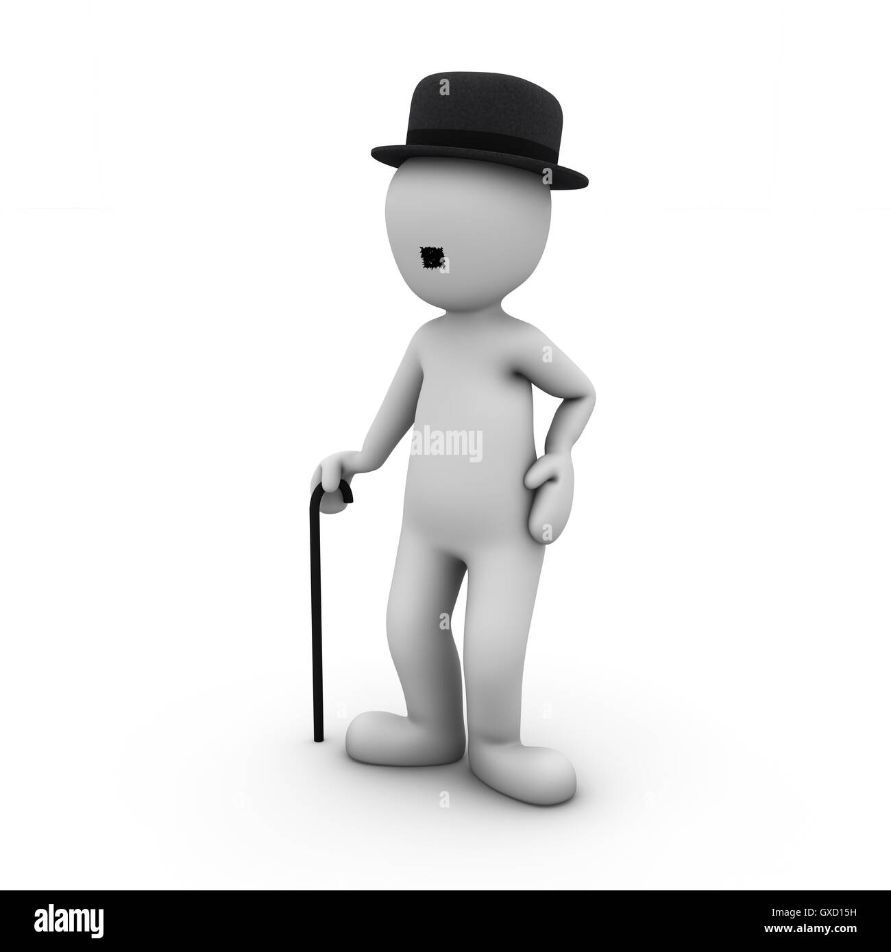 Movie characters 2 - Stock Image
