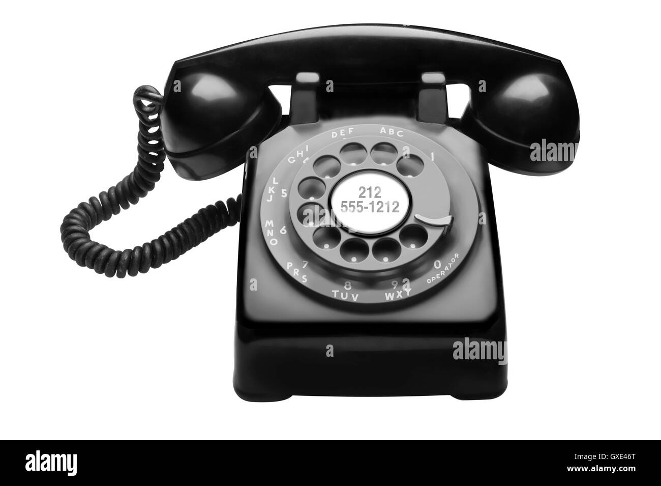 1950's Bell System Western Electric Rotary Telephone - Stock Image