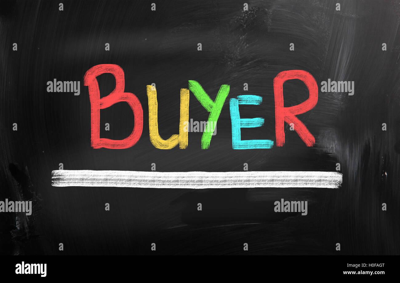 Buyer Concept - Stock Image