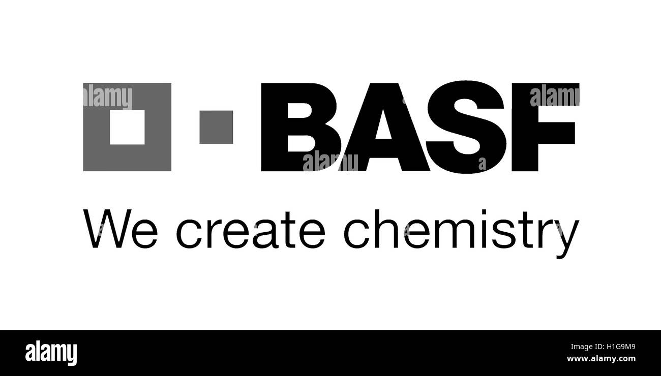 Logo Of The German Chemical Company Basf With Seat In Ludwigshafen