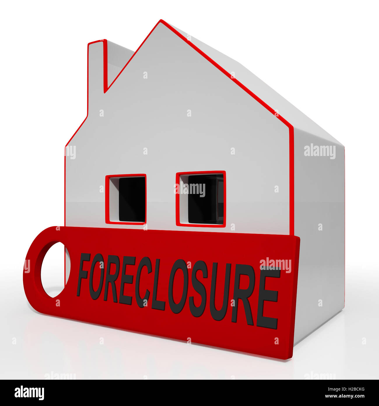 foreclosure house shows repayments stopped and repossession by l