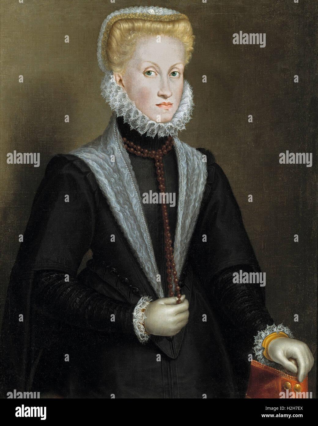 Queen Anna of Austria - Stock Image