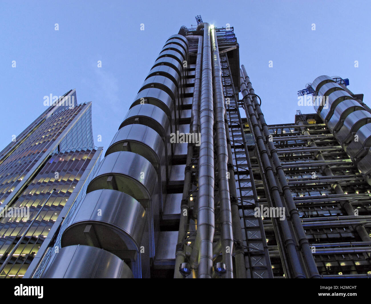 Inside-Out,city,of,financial,district,Brexit,Passporting,radical,Bowellism,architecture,street,modern,night,shot,nightshot,tower,metropolis,twilight,bold,Lloyds Building,Lloyds Insurance Building,Financial District,Financial Passporting,Lime St,Lime Street,Richard Rogers,GoTonySmith,@HotpixUK,Tony,Smith,different,unique,Richard,Rogers,Bovis,construction,film,location,locations,steel,glass,windows,financial,centre,center,Europe,Futuristic,GB,UK,controversial,design,Buy Pictures of,Buy Images Of,Images of,Stock Images,Tony Smith,Photo of,Night Shot,City Of London,Great Britain