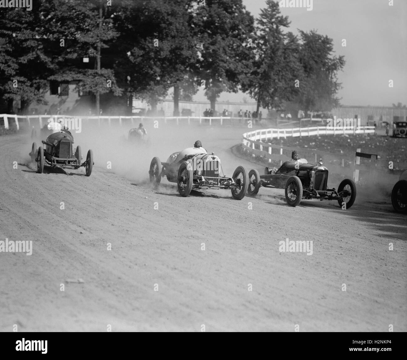 Auto Race, Rockville Fair, Rockville, Maryland, USA, National Photo Company, August 1923 - Stock Image