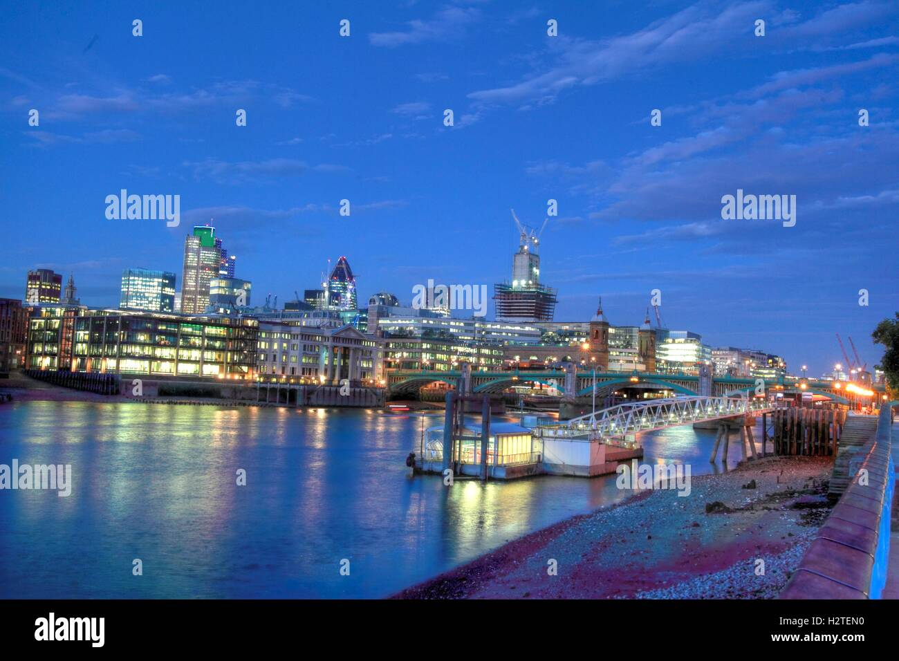 Capital,City,water,reflection,reflections,skyline,pano,blue,dusk,evening,morning,dawn,bridge,bridges,dock,dockside,riverside,side,wide,landscape,south,north,bank,travel,traveller,tourist,thamespanorama,architecture,boats,building,business,business,district,cityscape,lit,River Side,GoTonySmith,@HotpixUK,Tony,Smith,different,unique,Panorama,bridges,crossing,crossings,lights,icon,iconic,sky,line,skyline,walkway,visitor,Southwark,Riverboat,stage,Buy Pictures of,Buy Images Of,Images of,Stock Images,Tony Smith,Photo of,River Thames,City Of London,River Thames Panorama,London City