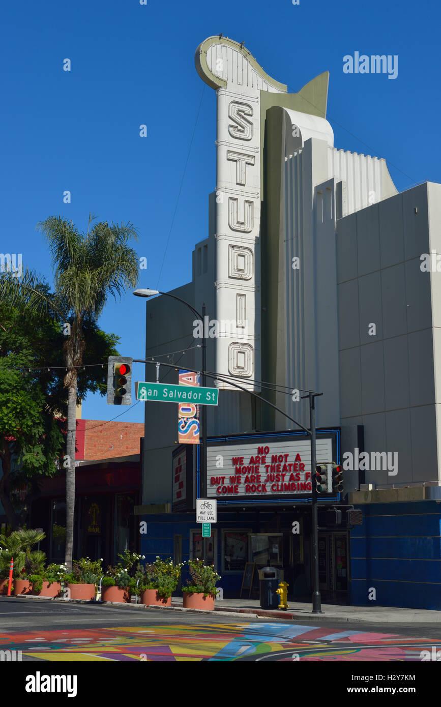 The Studio, San Jose CA - Stock Image