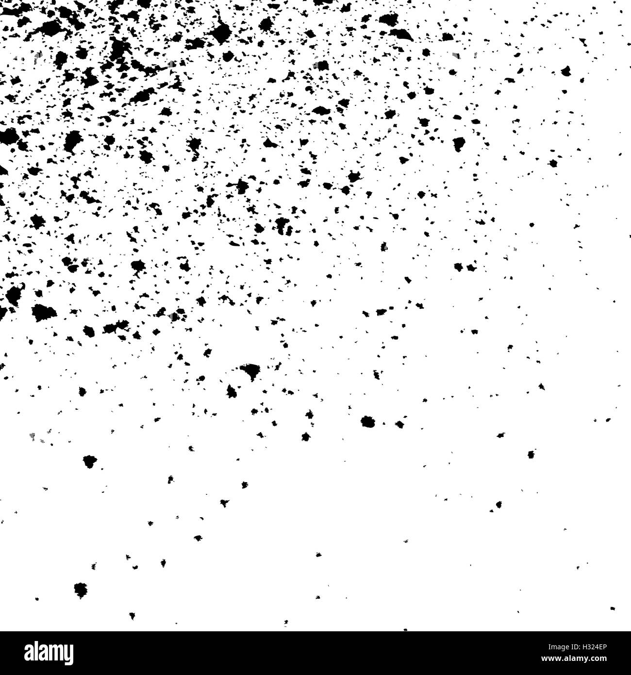 black ink paint splatter on white background spray paint abstract