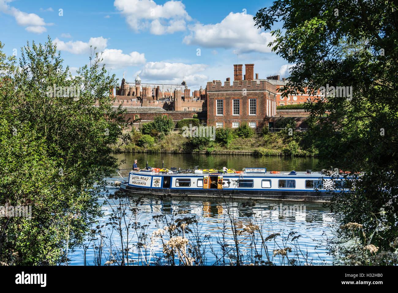 Hampton Court Palace, England, UK Stock Photo