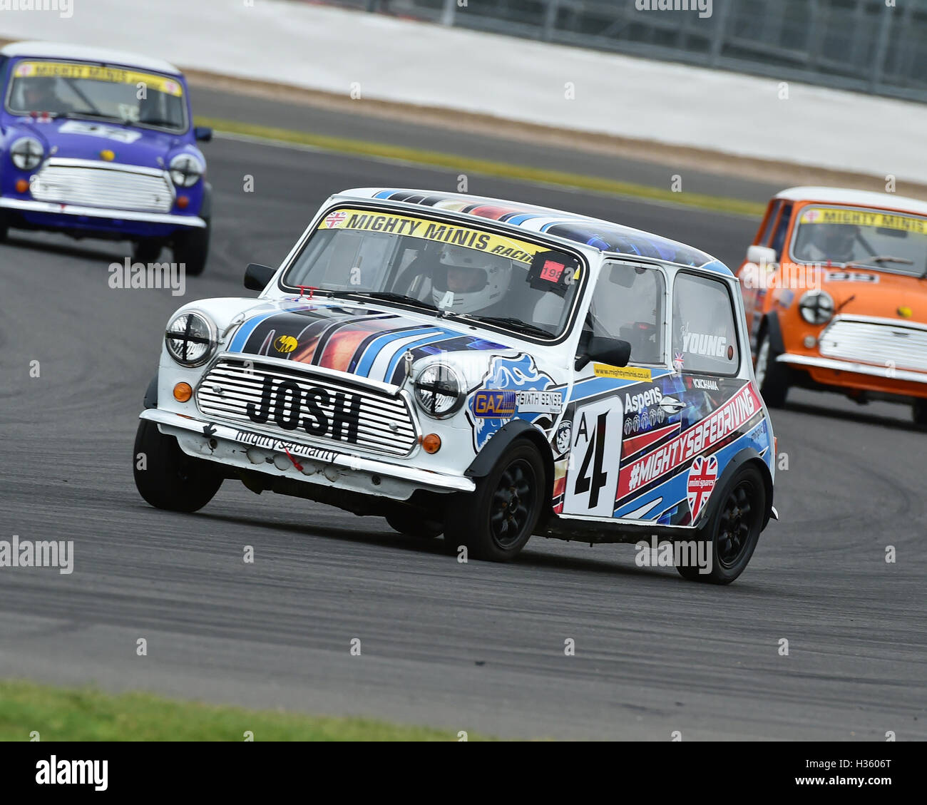 Josh Young, Mighty Mini, 1275, Mighty Mini Championship, Saturday, Silverstone, Silverstone truck festival, Saturday, - Stock Image
