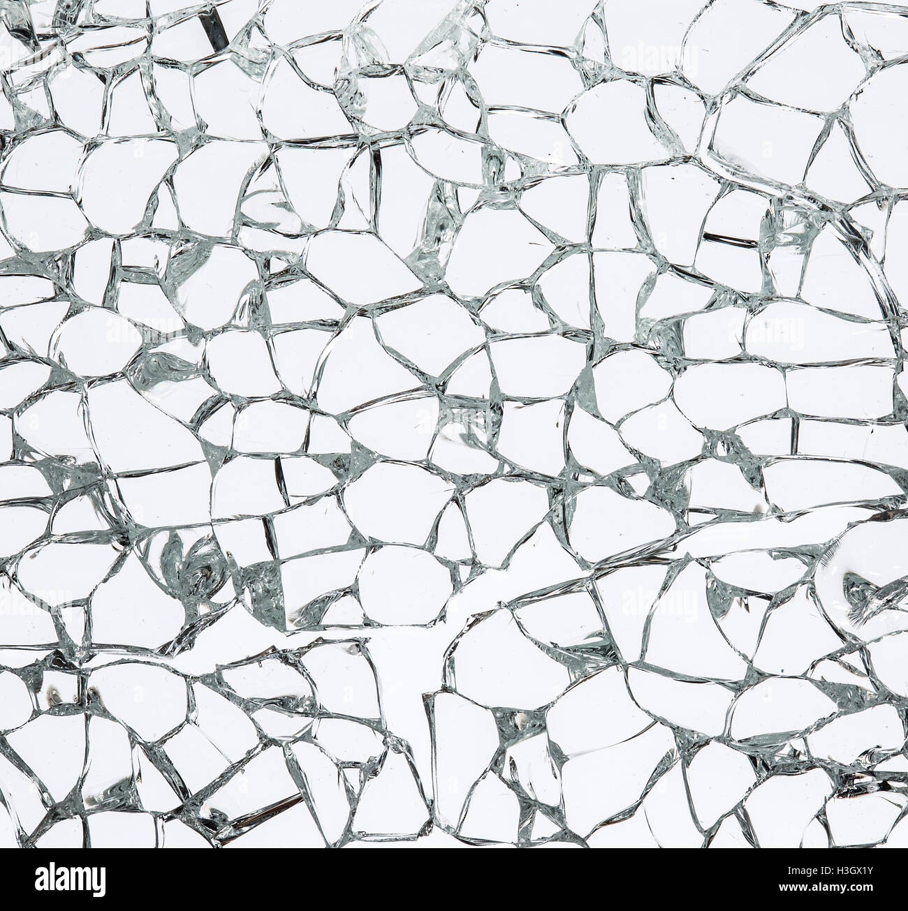 Texture of broken safety glass. Macro Stock Photo: 122688215 - Alamy