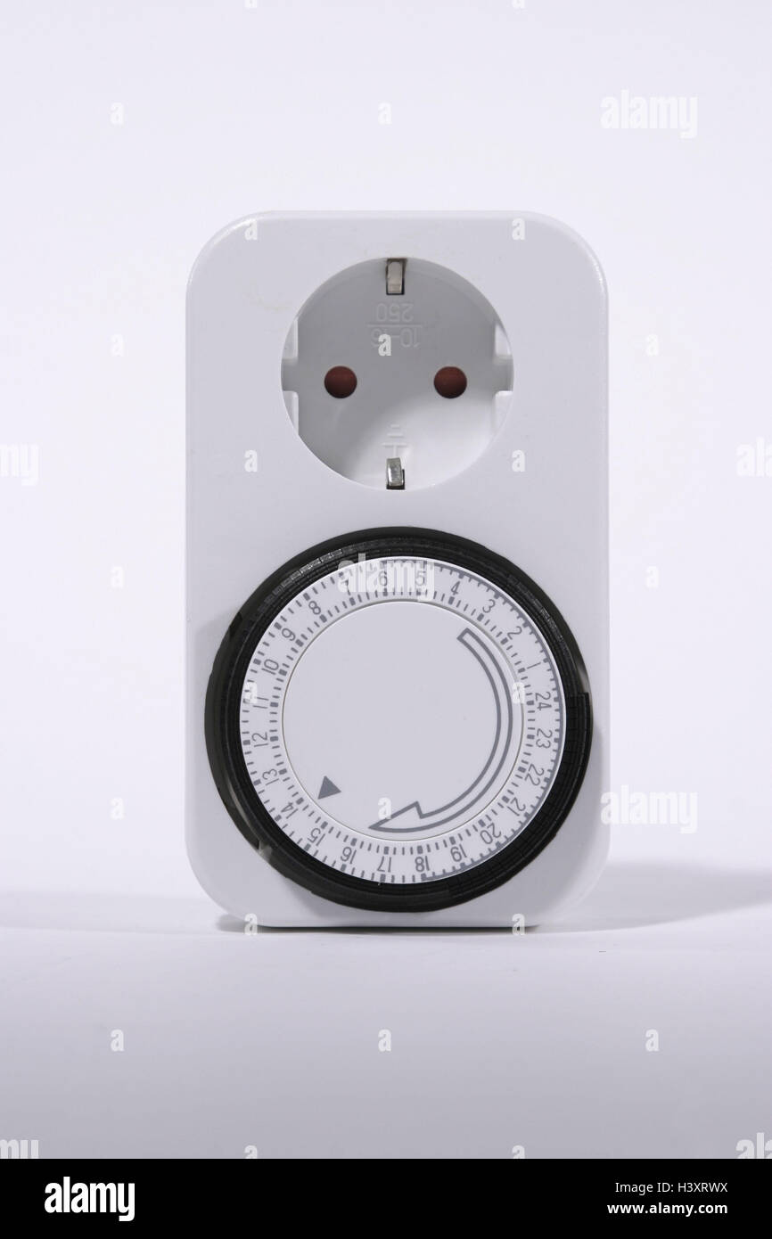 Time switch clock electricity, current, household current, power ...
