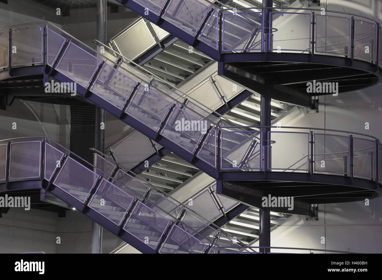 Outside Stairs, Steel Design Work, Stairs, Building Facade,