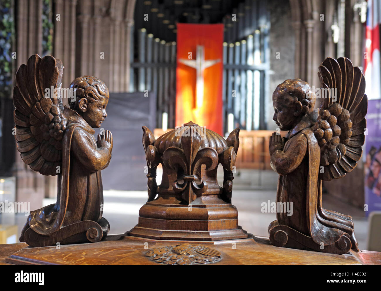 pipe,cross,Jesus,Christ,religious,Crucifixion,Christian,church,inside,interior,metal,alloy,sacred,tourist,landmark,tourism,orange,red,font,wood,wooden,carving,carved,angels,pray,prayer,praying,angel,building,architecture,organ pipe,organ pipes,Manchester cathedral,GoTonySmith,@HotpixUK,Tony,Smith,UK,GB,Great,Britain,United,Kingdom,English,British,England,Buy Pictures of,Buy Images Of,Images of,Stock Images,Tony Smith,United Kingdom,Great Britain,British Isles