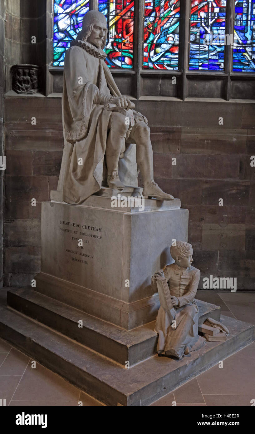 Humfredo,Chetham,Christian,architecture,inside,interior,religion,cross,religious,easter,altar,stone,stonework,church,stone,alabaster,in,front,infront,of,stained,glass,window,sculpture,Humfredo,Chetham,Manchester Cathedral,GoTonySmith,@HotpixUK,Tony,Smith,UK,GB,Great,Britain,United,Kingdom,English,British,England,Buy Pictures of,Buy Images Of,Images of,Stock Images,Tony Smith,United Kingdom,Great Britain,British Isles